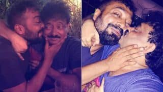 Ram Gopal Varma posted a picture of him kissing Anurag Kashyap and obviously it's going viral
