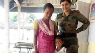 Army Doctor Captain Nikita Srivastava brought five-year-old comatose Seema Boro back to life in Assam!