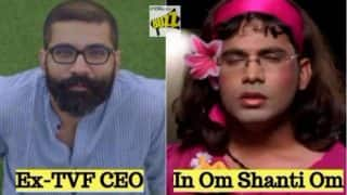 Not Deepika Padukone, Ex-TVF CEO Arunabh Kumar Auditioning for Shah Rukh Khan's Heroine Role in Om Shanti Om is Memorable!