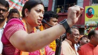 BJP Holds 'Save Bengal' Protest in Delhi, Says 'Democracy Subjugated By Jihadi Anarchists Under TMC Regime'