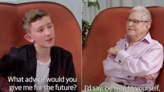 Teen and Old Man, 65 Years Apart in Age Discuss About Being Gay in Different Times (Watch Video)