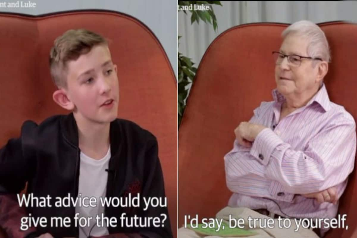 Teen And Old Man 65 Years Apart In Age Discuss About Being Gay In