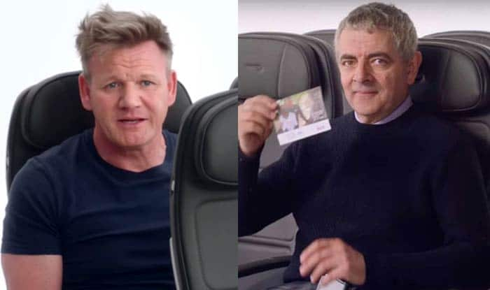 British Airways release safety video starring Mr Bean and Gordon Ramsay