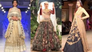 Stunning Bridal Lehengas from India Couture Week 2017 that Every Bride-to-be should See