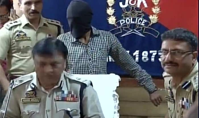 UP youth arrested for terror strikes in Jammu and Kashmir