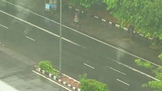 Delhi Rain: Light Showers Bring Relief From Heat in Delhi; Thunderstorm Likely Later Today