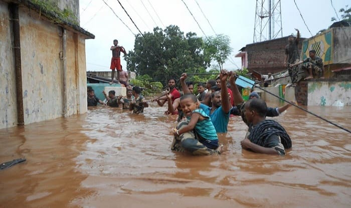 The administration was planning to provide power boats to ferry the people from marooned areas in Manpur in Aul block and Srirampur in Pattamundai block. (Image: PTI)