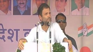 Parliament Can Open at Midnight For GST, But it Can't Discuss Farmers' Plight For a Minute: Rahul Gandhi at Kisan Akrosh Rally