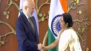 Sushma Swaraj Meets Iraq Foreign Minister, to Give Statement on 39 Missing Indians at 5PM Today