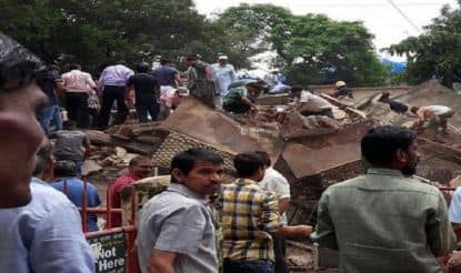 LIVE - Building Collapse in Ghatkopar: 11 Reportedly Killed, Dozens Feared Trapped