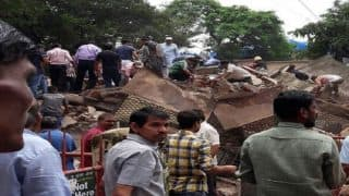 Mumbai: Residential Building Collapses in Ghatkopar, 30 Feared Trapped