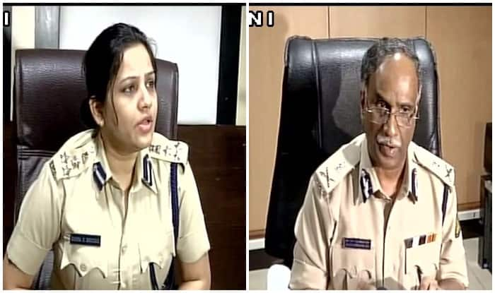 Former DIG Prisons D Roopa Moudgil and DG Rao