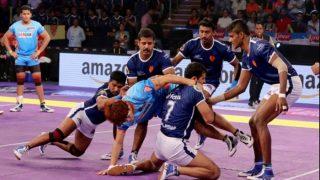 Dabang Delhi K.C vs Jaipur Pink Panthers PKL 5: Delhi Beat Jaipur 30-26