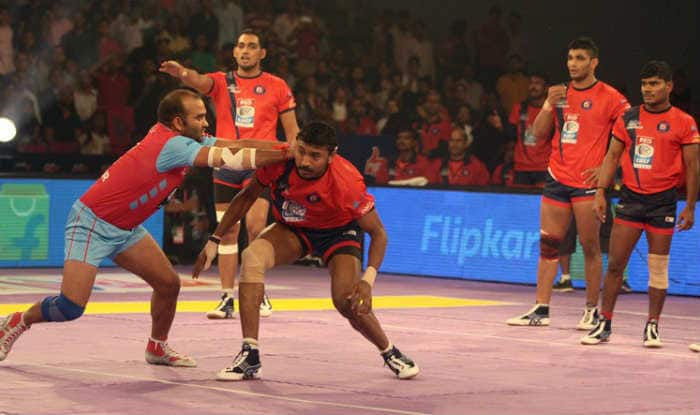 PKL 5: Pink Panthers win big, Pirates held