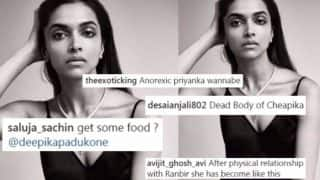 After Slut Shaming, Deepika Padukone gets Skinny-Shamed on Instagram for her Vanity Fair Photoshoot Picture