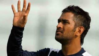 Dhoni Hones Shooting Skills After India Practice Wash Out