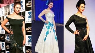 Divyanka Tripathi Dahiya at Zee Gold Awards 2017 in Pictures: Best Gown Moments of Yeh Hai Mohabbatein Actress