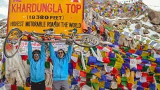 Visually-impaired Divyanshu Ganatra to Lead in Manali to Khardung La Cycle Expedition!
