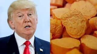 Ecstasy Tablets Shaped Like Donald Trump's Head With High MDMA Floods UK Streets