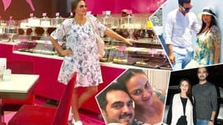 Esha Deol's pregnancy pictures prove that she can rock the baby bump better than others!