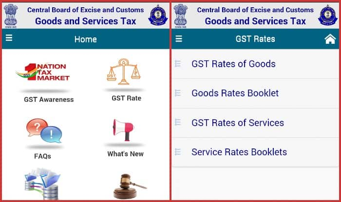 GST Rates Finder app by NIC India now available to download