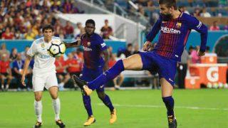 गेरार्ड पिक के गोल की बदौलत बार्सिलोना ने रीयाल मैड्रिड को हराया