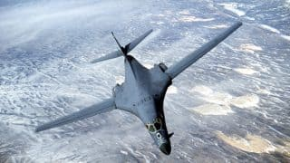 US Flies B1-B Bombers Over Korean Peninsula In Response to North Korea's Second ICBM Test