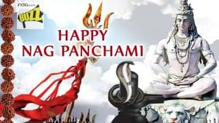 Nag Panchami 2017 Wishes: Best Messages, Quotes, Happy Nag Panchami WhatsApp GIF & Greetings to Celebrate Sawan Month Festival