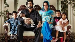 Haseena Parker new poster: Shraddha Kapoor, Ankur Bhatia And The Kids Make For A Happy Family Portrait