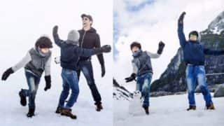 Hrithik Roshan and his sons are enjoying their vacation and these pics are major proof of that!