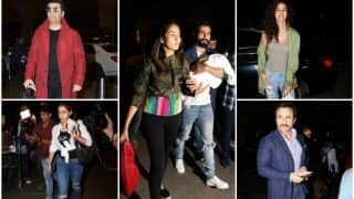 IIFA 2017: Saif Ali Khan With Kids Sara And Ibrahim, Shahid Kapoor With Mira And Misha, Disha Patani, Karan Johar Head To New York City!