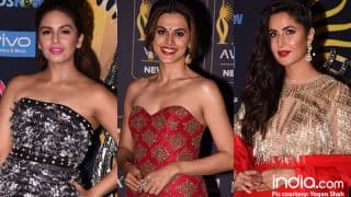 IIFA Rocks 2017 Green Carpet Worst Dressed: Katrina Kaif, Huma Qureshi, Taapsee Pannu top the list-View Pics