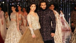 India Couture Week 2017: Ranveer Singh And Alia Bhatt's Chemistry Is Making Us Desperate To See Them In A Film
