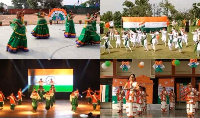 Indian independence day performance videos on patriotic songs in.