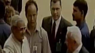 Watch: Former PM Atal Bihari Vajpayee Speaks To Then Israeli PM Ariel Sharon