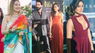 IIFA 2017 Green Carpet: Shahid Kapoor - Mira Rajput, Sonakshi Sinha, Nargis Fakhri Enthrall Us With Their Stunning Appearances