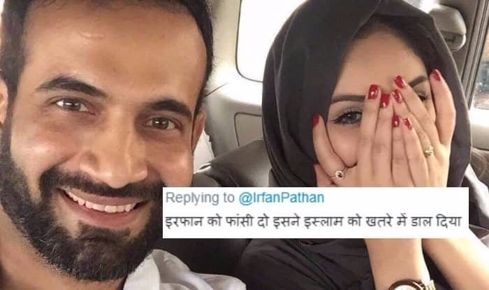 Irfan Pathan Trolled Over Social Media for Posting Picture of His Wife