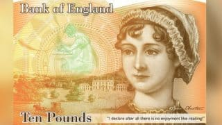 Bank of England Unveils 10-pound Note Featuring Jane Austen With a Quote From Pride and Prejudice