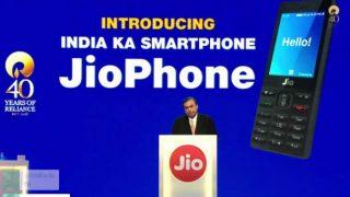Reliance Industries Limited 40th AGM live updates | इंतजार खत्म, रिलायंस ने 0 रुपये में लॉन्च किया The Jio Phone