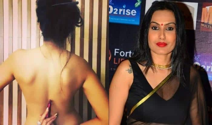 Kamya Punjabi goes topless to support 'Lipstick under my Burkha' 1