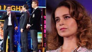 IIFA 2017: Karan Johar And Saif Ali Khan Take An Open Dig At Kangana Ranaut And We Can't Wait For Her Reply