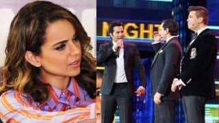 Kangana Ranaut Reacts To Karan Johar, Varun Dhawan And Saif Ali Khan's Nepotism Gag At IIFA Awards 2017