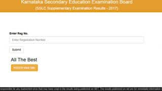 Karnataka SSLC supplementary results 2017 Declared: Check results at official website karresults.nic.in