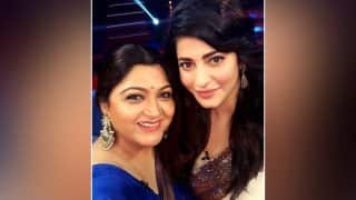 Khushbu Sundar Lashes Out At Actress Shruti Haasan - Read Deets