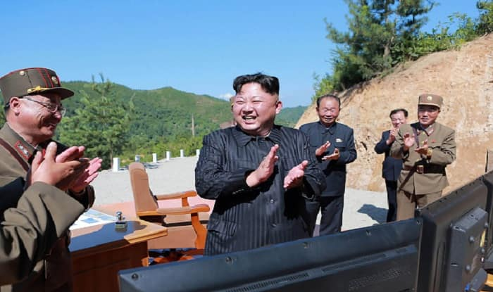 Kim Jong-Un's desperation could be gauged from the fact it tested 17 missiles in 2017