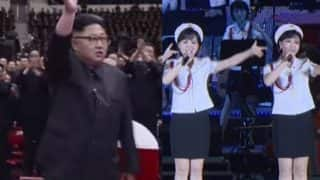 Kim Jong-un's Hwasong-14 ICBM Missile Launch Success Celebrated by Pop Concert: All-Girl Moranbong Band Performs for North Korean Leader
