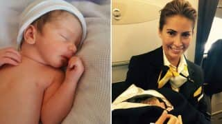Lufthansa Airlines Announces Birth Of Baby Boy Mid-Air Over Atlantic Ocean (See Pictures)