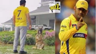 MS Dhoni to be Chennai Super Kings Captain in IPL 11? Instagrammed Picture Wearing Yellow Jersey With 'Thala' Written Strongly Hints So