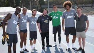 Manchester United Players Meet Game of Thrones Stars on Their US Tour