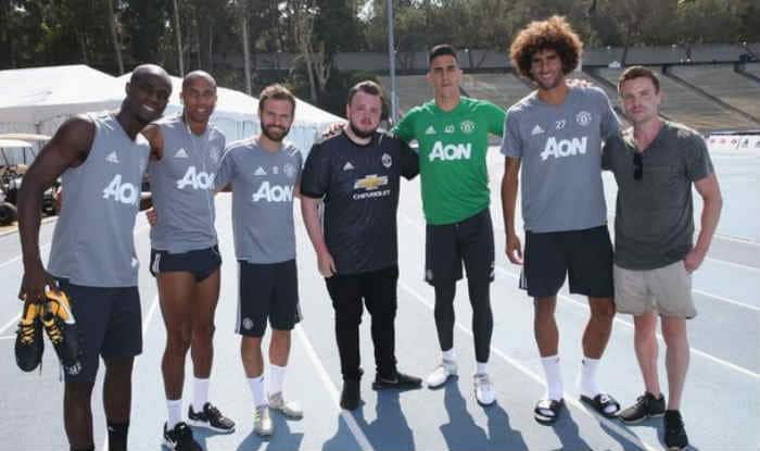 Manchester United players meet Game of Thrones stars. ©GettyImages